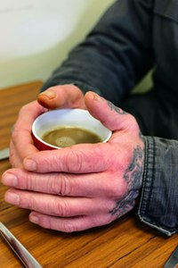 Cup of Tea at the Soup Kitchen